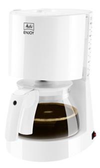 Кофеварка Melitta Enjoy II 21449 850 Вт белый 101701 WH цена и фото