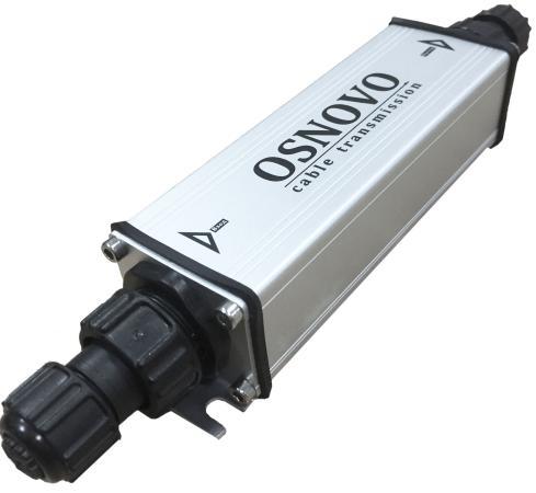 цена Удлинитель PoE Osnovo E-PoE/1GW уличный 10/100/1000M Gigabit Ethernet до 500м онлайн в 2017 году
