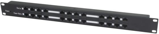 PoE-инжектор Osnovo Midspan-12/P пассивный на 12 портов инжектор osnovo midspan 1 151a poe 1 порт максимальная выходная мощность 15 4 вт