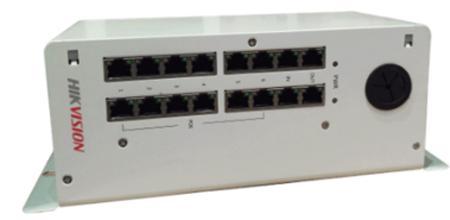 Коммутатор Hikvision DS-KAD612 16 портов коммутатор zyxel gs1100 16 gs1100 16 eu0101f