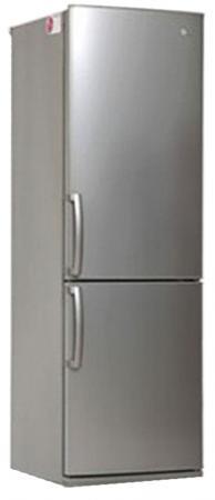 Холодильник LG GA-B379UMDA серебристый холодильник с морозильной камерой lg ga b379umda