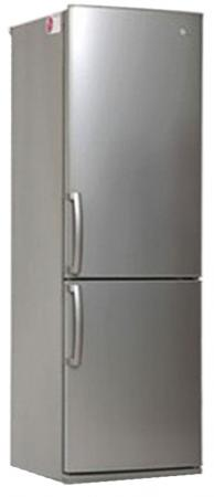 Холодильник LG GA-B379UMDA серебристый