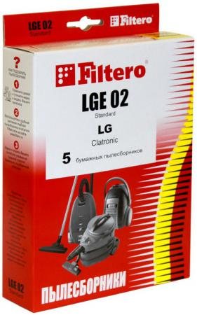 Пылесборник Filtero LGE 02 Standard двухслойные 5 шт
