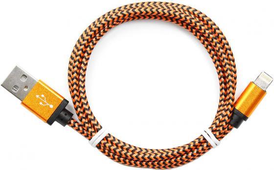 Кабель Lightning 1м Cablexpert круглый CC-ApUSB2oe1m кабель lightning 1м gembird круглый cc usb ap2mwp
