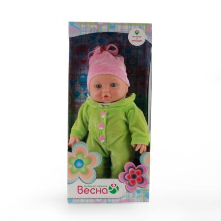 Кукла Весна Малышка 11 девочка 30 см В2193 кукла весна малышка 11 девочка 30 см в2193