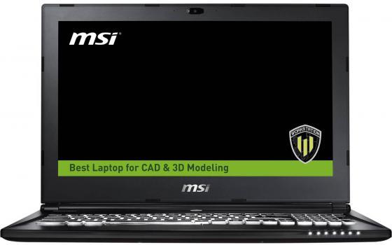 Ноутбук MSI WS60 6QH-643RU 15.6 1920x1080 Intel Core i7-6700HQ 1Tb + 128 SSD 16Gb nVidia Quadro M600M 2048 Мб черный Windows 10 Professional 9S7-16H812-643 643 953 41 57 60