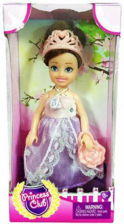 Кукла Shantou Gepai Princess Club 12 см KW20906 кукла shantou gepai princess club kw20906