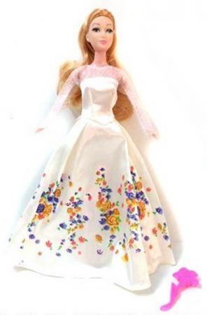 Кукла Shantou Gepai в бальном платье с аксессуаром 29 см BB-20