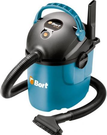 Промышленный пылесос BORT BSS-1010 сухая уборка синий чёрный