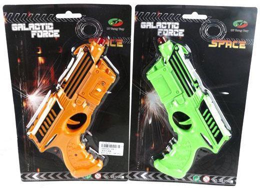 Пистолет Shantou Gepai Galactic Force цвет в ассортименте 356-1 пистолет shantou gepai desert eagle серый прицел гелевые пули usb зарядка 635448