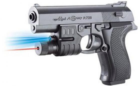 Пистолет Shantou Gepai Механический с фонарем серый ES1003-729APB пистолет shantou gepai desert eagle серый прицел гелевые пули usb зарядка 635448
