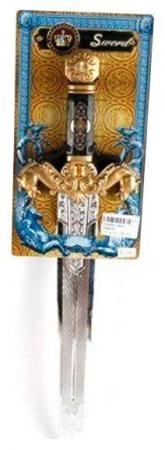Оружие Shantou Gepai Меч Рыцарский серебристый золотистый Т57391 оружие shantou gepai overlord золотистый 36b 1