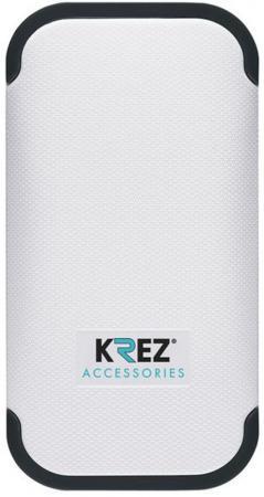 Портативное зарядное устройство Krez LI4401W 4400mAh белый