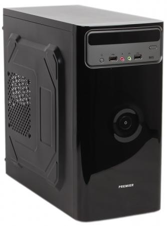Корпус microATX Sun Pro Electronics Premier I 450 Вт чёрный серебристый корпус microatx exegate mi 205l 300 вт чёрный серебристый ex249478rus