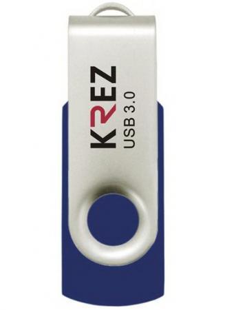 Флешка USB 32Gb Krez 401 синий KREZ401U3L32 флешка usb 32gb krez micro 501 бело зеленый krez501we32