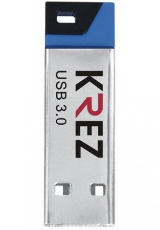 Флешка USB 16Gb Krez mini 602 черно-синий KREZ602U3BL16 флешка usb 32gb krez micro 501 бело зеленый krez501we32