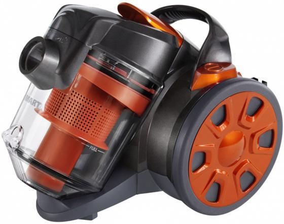 Пылесос Marta MT-1352 сухая уборка чёрный оранжевый цена