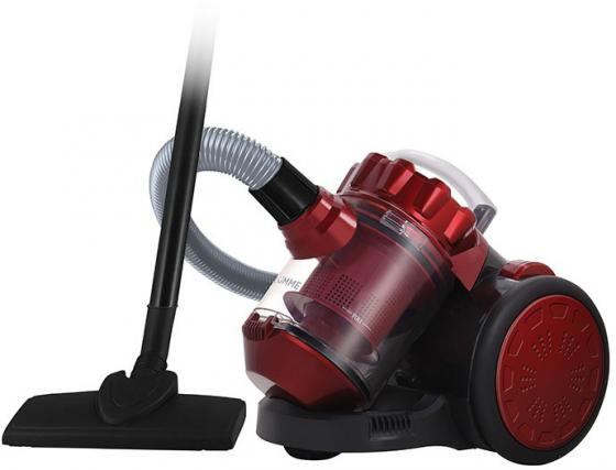Пылесос Lumme LU-3209 сухая уборка красный чёрный пылесос lumme lu 3206 черно фиолетовый