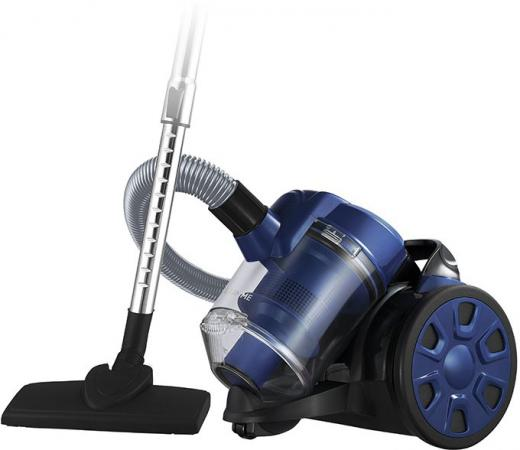 Пылесос Lumme LU-3208 сухая уборка синий чёрный мультиварка lumme lu 1445 860 вт 5 л черный красный