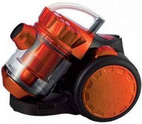 Пылесос HOME ELEMENT HE-VC1801 сухая уборка чёрный оранжевый  пылесос home element he vc1801