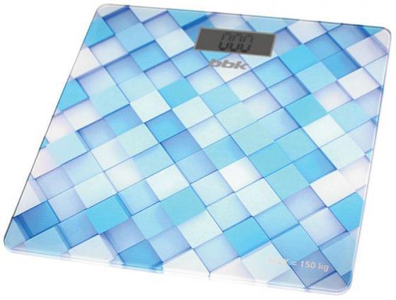 Весы напольные BBK BCS3001G голубой тостер bbk tr72m white