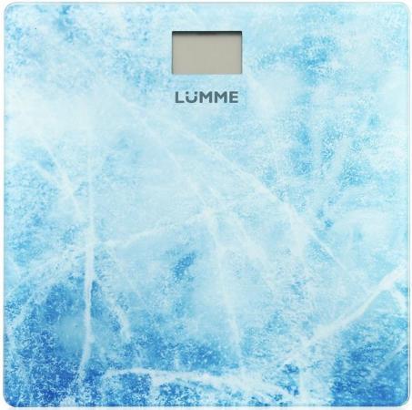 цена на Весы напольные Lumme LU-1328 рисунок Морозное утро