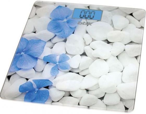 Весы напольные BBK BCS3002G бело-голубой