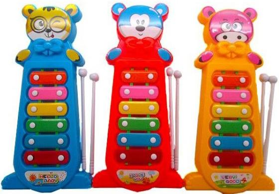 Ксилофон Shantou Gepai 6 тонов 255-5 цена