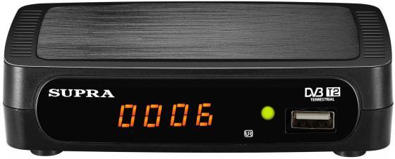 Тюнер цифровой Supra SDT-85 черный цена и фото