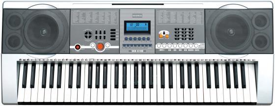 Синтезатор Supra SKB-610U 61 клавиша серебристый  supra skb 610u 61клав серебристый