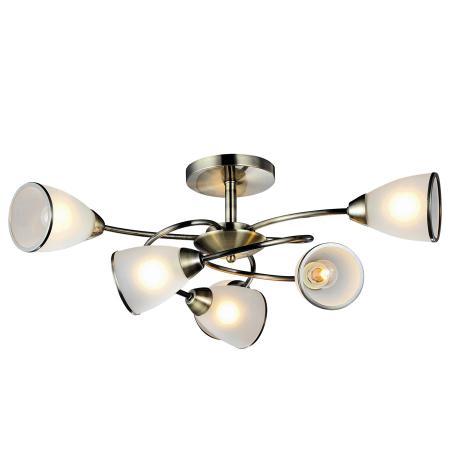 Потолочная люстра Arte Lamp 3 A6059PL-6AB