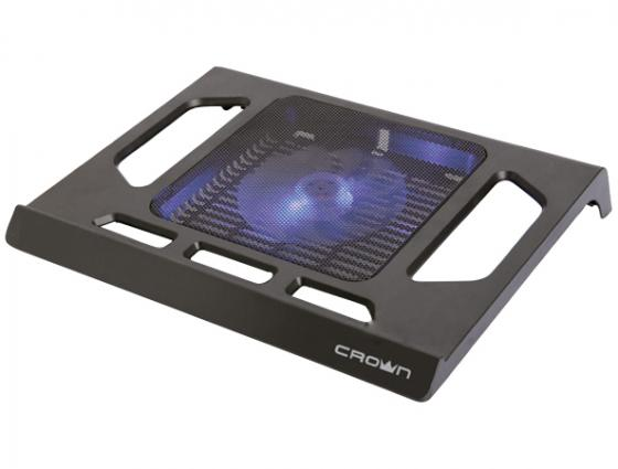 Подставка для ноутбука 15.6 Crown CMLS-910 290x350x45mm USB 450g черный