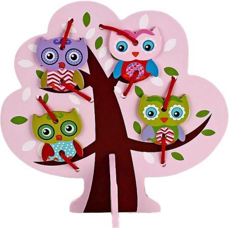 Шнуровка Mapacha Дерево с совятами 76429 деревянные игрушки mapacha шнуровка дерево с совятами