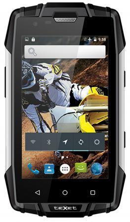 Смартфон Texet TM-4083 черный жёлтый 4 8 Гб Wi-Fi GPS 3G texet navipad tm 7858 3g 16gb titanium