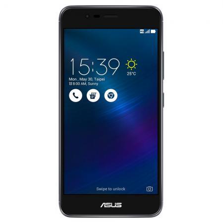 Смартфон ASUS ZenFone 3 Max ZC520TL темно-серый 5.2 16 Гб LTE Wi-Fi GPS 3G 90AX0086-M00310 смартфон asus zenfone zf3 laser zc551kl золотистый 5 5 32 гб wi fi lte gps 3g 90az01b2 m00050