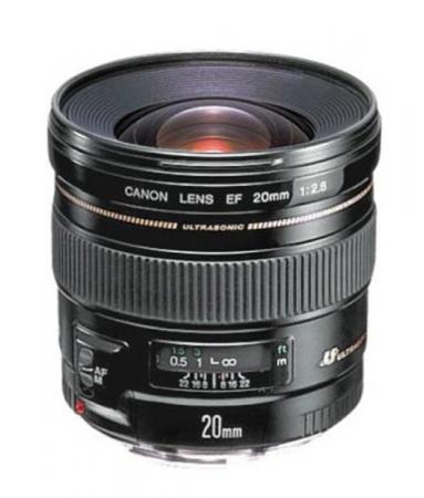 Объектив Canon EF 20 MM F2.8 USM 2509A010 canon canon ef 50mm f 1 4 usm canon ef