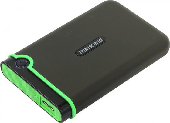 Внешний жесткий диск 2.5 USB3.1 1 Tb Transcend StoreJet 25MC TS1TSJ25MC черный внешний жесткий диск transcend storejet 25m3 ts1tsj25m3 1тб черный