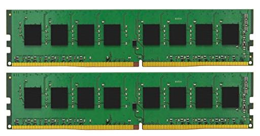 Оперативная память 16Gb (2x8Gb) PC4-17000 2133MHz DDR4 DIMM CL15 Kingston KVR21N15S8K2/16