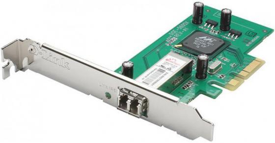 Купить со скидкой Сетевой адаптер D-LINK DGE-560SX/LC/C1A 10/100/1000Mbps с дуплексным LC-разъемом