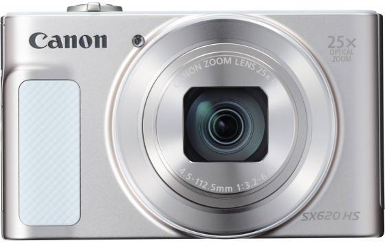 Фотоаппарат Canon PowerShot SX620 HS 20Mp 25xZoom белый 1074C002 canon powershot sx720 hs red
