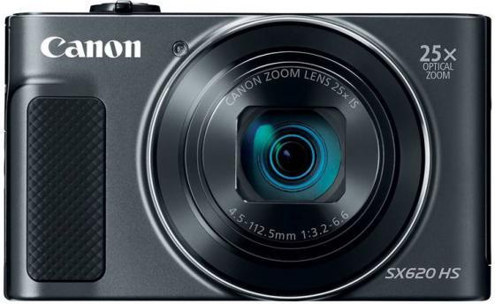 Фотоаппарат Canon PowerShot SX620 HS 20Mp 25xZoom черный 1072C002