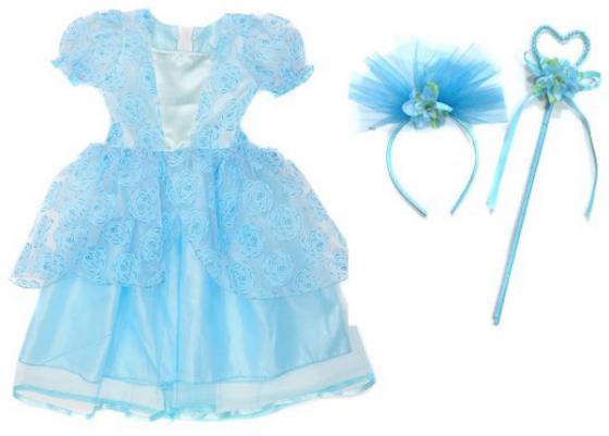 Карнавальный костюм Новогодняя сказка Зимняя принцесса 972145