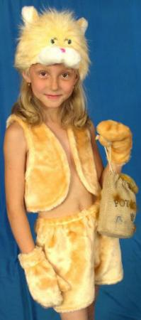 цена на Карнавальный костюм Костюмы Кот (головной убор, жилет, шорты) К-016