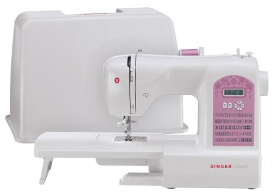 Швейная машина Singer Starlet 6699 белый [супермаркет] джингдонг сингер singer швейная машина бытовая электрическая многофункциональная 5511