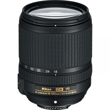 Объектив Nikon AF-S DX Nikkor ED VR 18-140мм F/3.5-5.6 черный JAA819DB