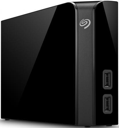 Внешний жесткий диск 3.5 USB3.0 4Tb Seagate Backup Plus Hub STEL4000200 черный внешний жесткий диск 3 5 10tb seagate stel10000400 usb3 0 backup plus hub черный
