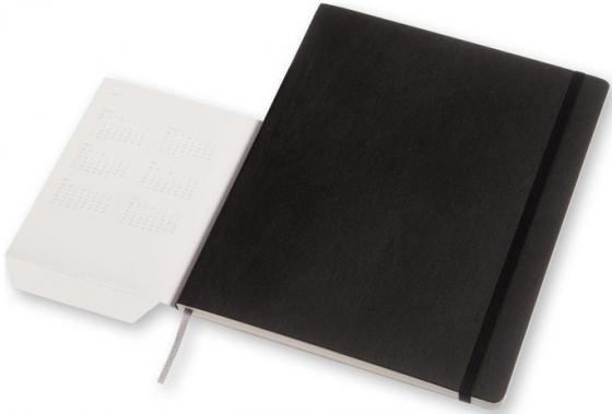 Еженедельник недатированный Moleskine Classic WKNT Xlarge Soft искусственная кожа 3-028/04 еженедельник moleskine classic wknt xl 190х250мм 144стр черный