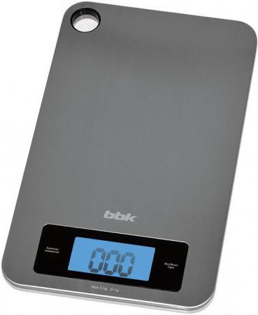 цена Весы кухонные BBK KS152M серебристый