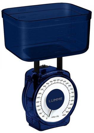 Весы кухонные Lumme LU-1301 синий сапфир весы кухонные lumme lu 1326 фиолетовый