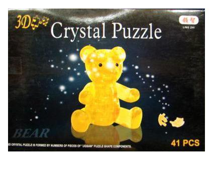 Пазл 3D 41 элемент Shantou Gepai Мишка 9016 3d пазл птеранодон pandapuzzle